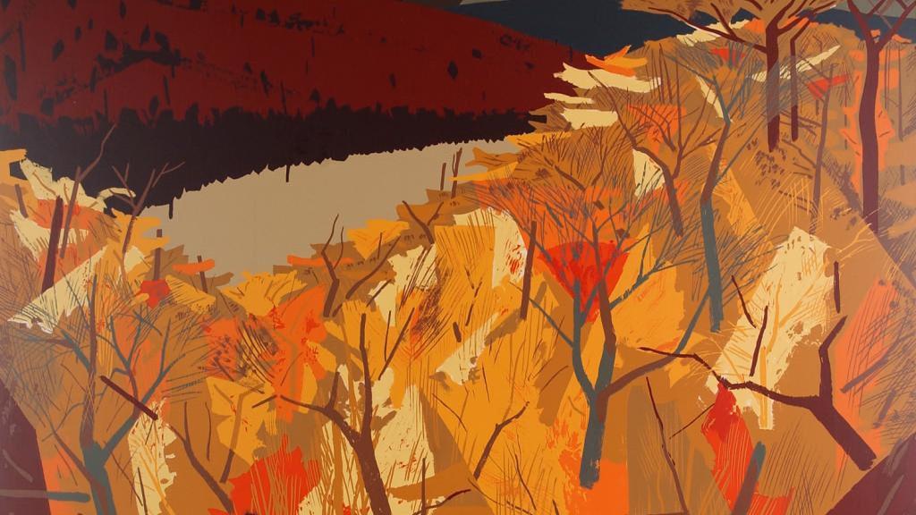 """Algonquin Lake"" - Charles Comfort"
